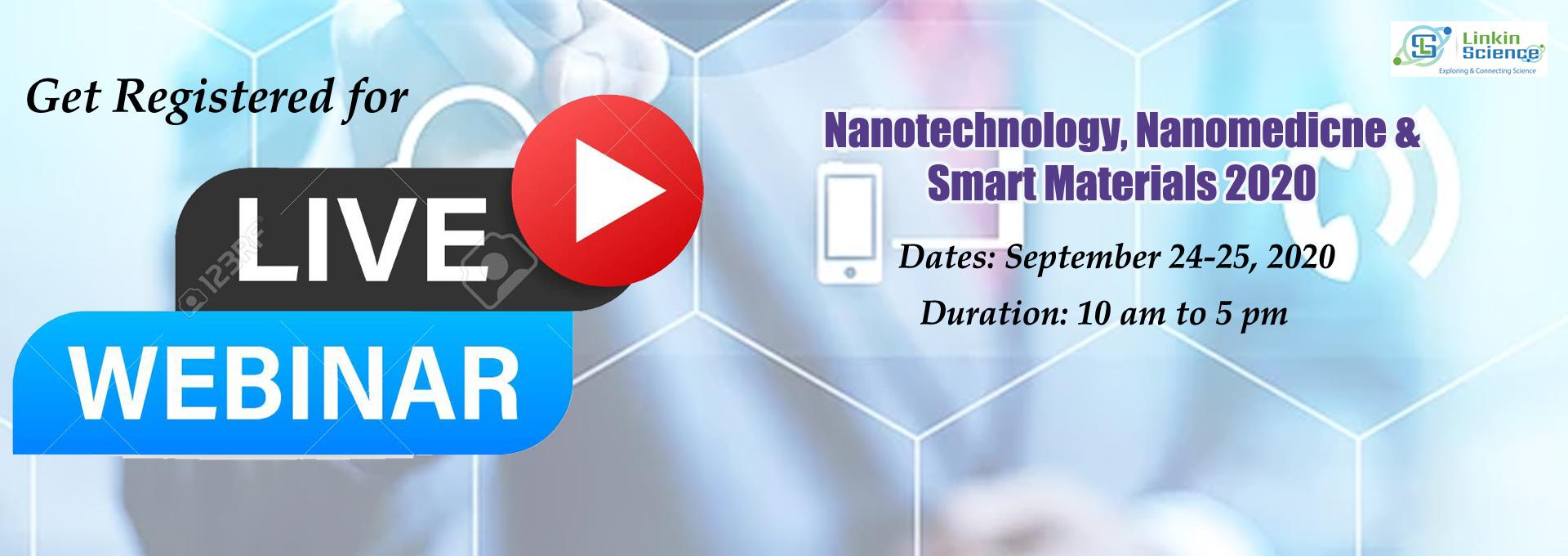 Nanotechnology conference webinar